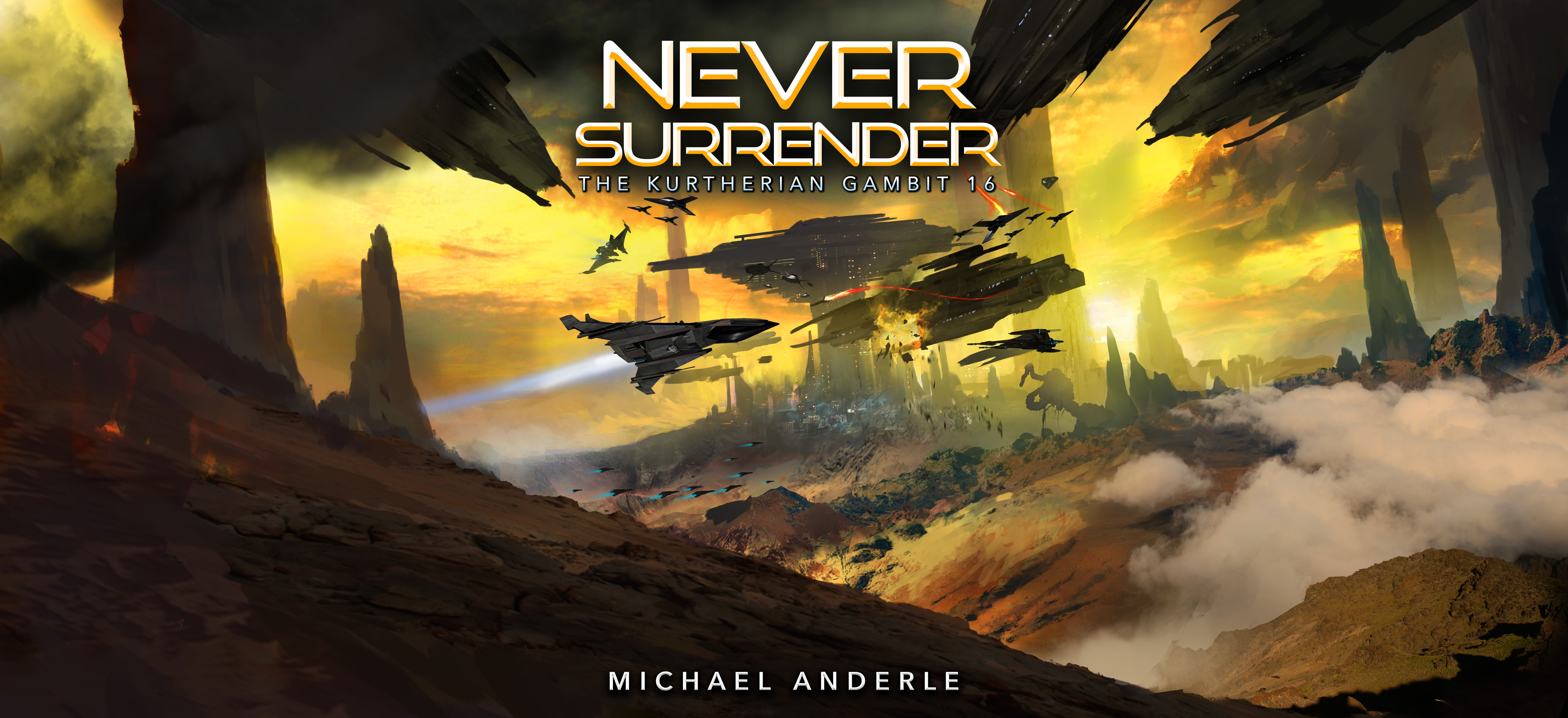 Never Surrender Full Cover