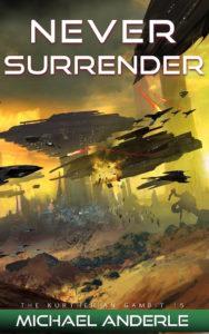 TKG15 NEVER Surrender Full Cover 700px